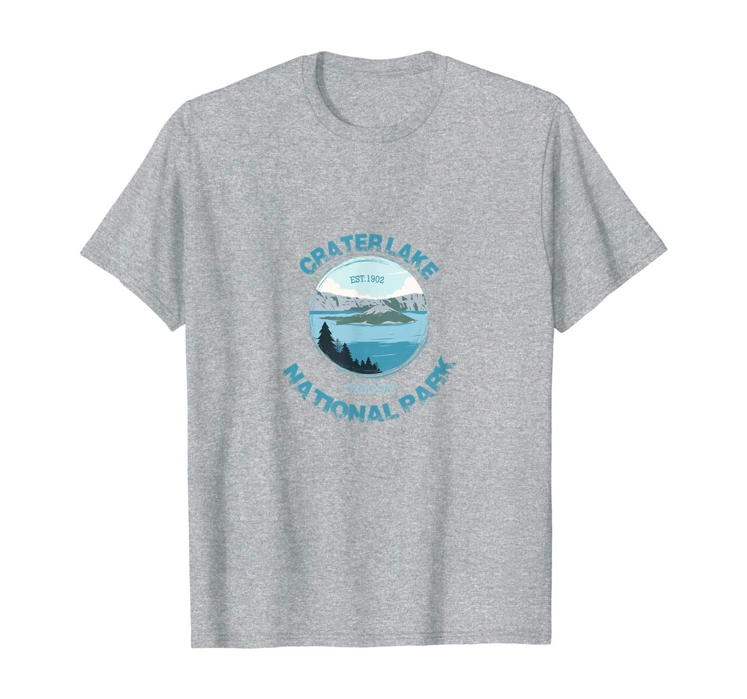 Scenic Crater Lake National Park T-Shirt #craterlakenationalpark