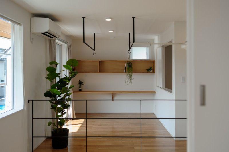 小布施町の注文住宅写真集 開放感のあるホワイトモダンの家 家 模様替え シンプルモダン