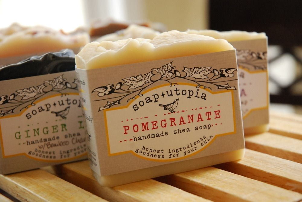 Bar Soaps Straightforward Bar Soap Handmade Health & Beauty Orange Cantaloupe