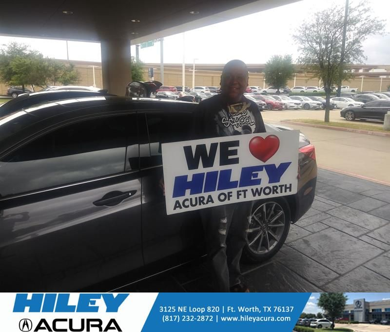 Congratulations Gary on your #Acura #TLX from Tony Gant at Hiley Acura! #NewCar