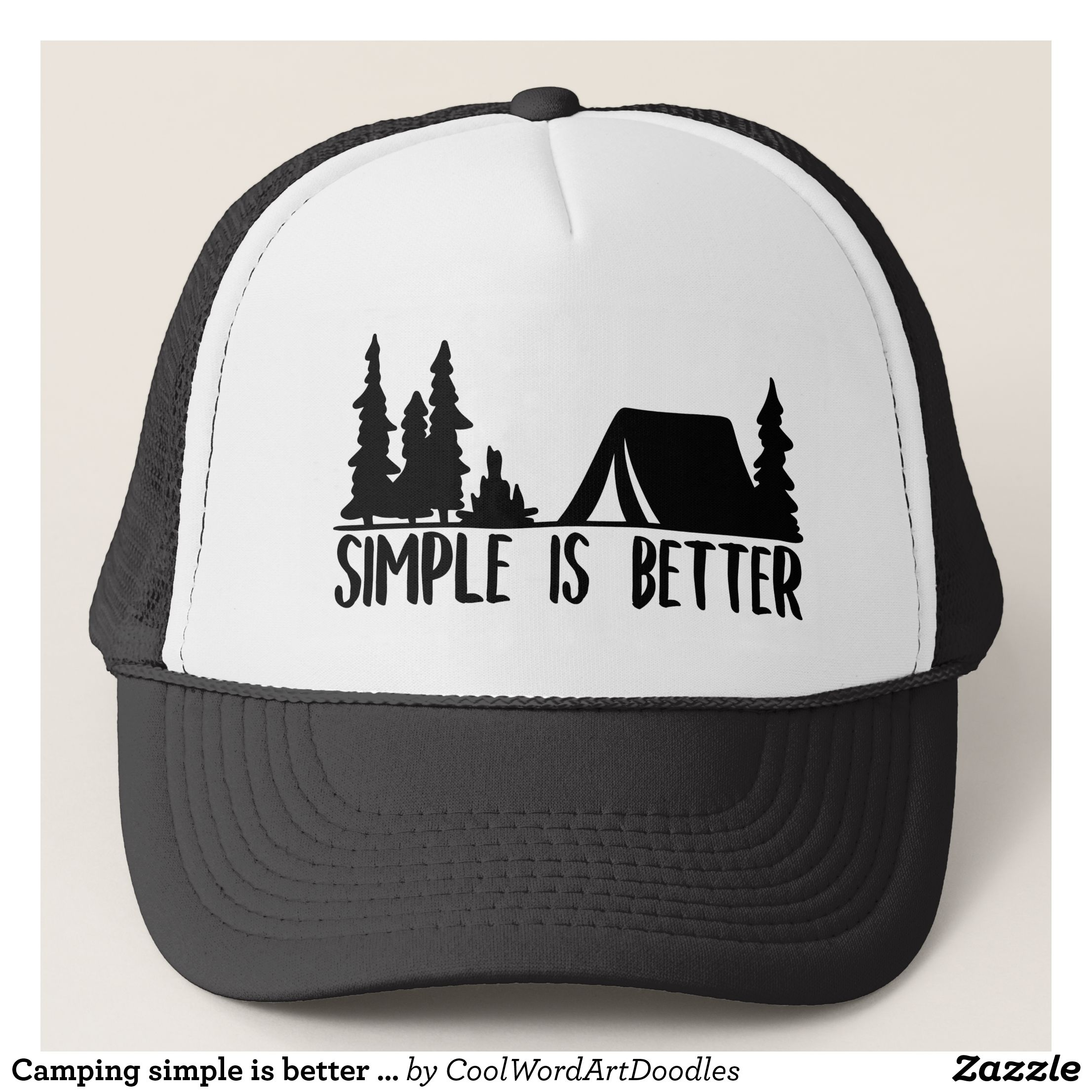 5d96412c074 Camping simple is better words hat - Urban Hunter Fisher Farmer Redneck  Hats By Talented Fashion And Graphic Designers -  hats  truckerhat   mensfashion ...