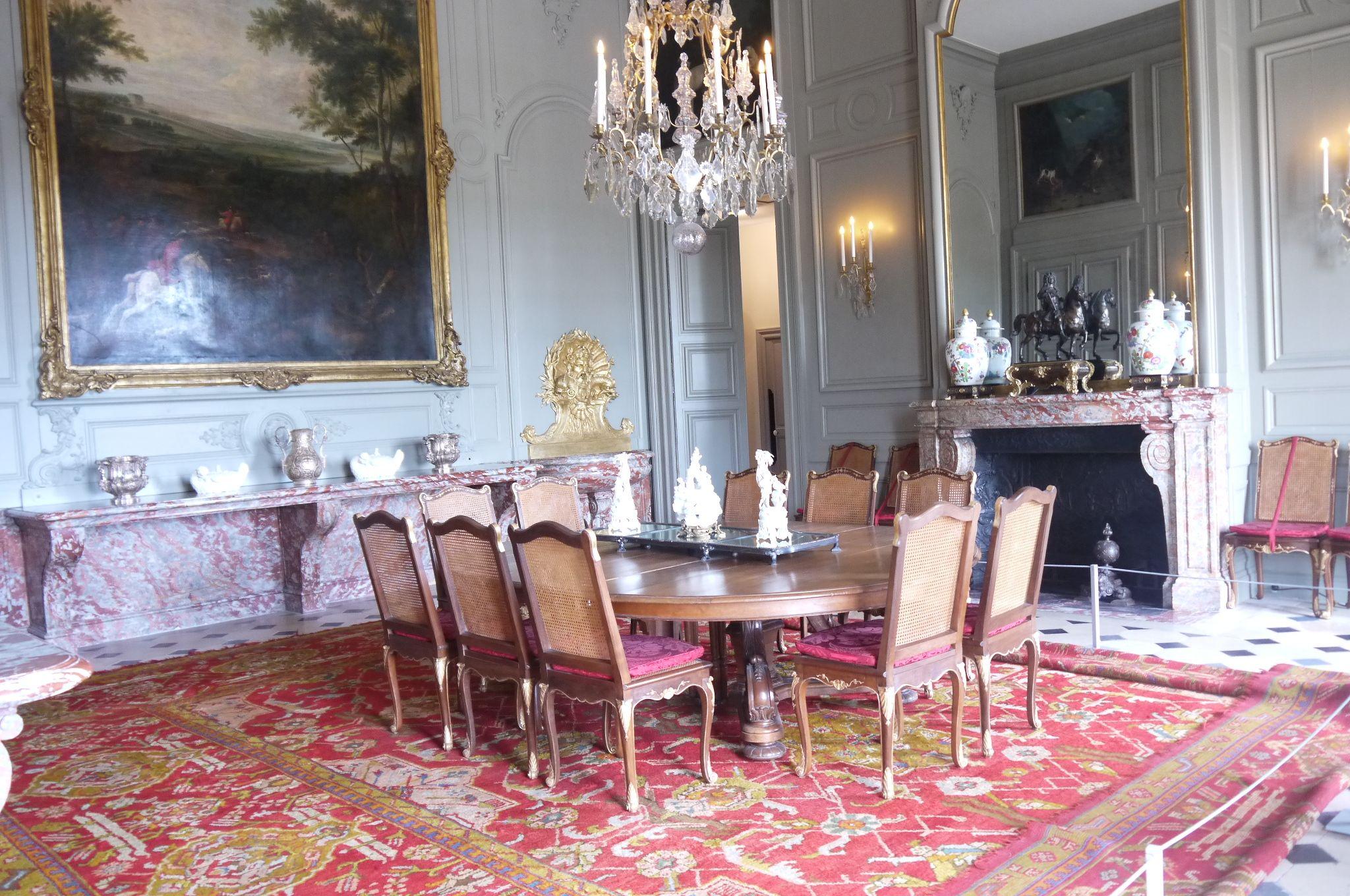 Champs Sur Marne Le Chateau La Salle A Manger French Interiors
