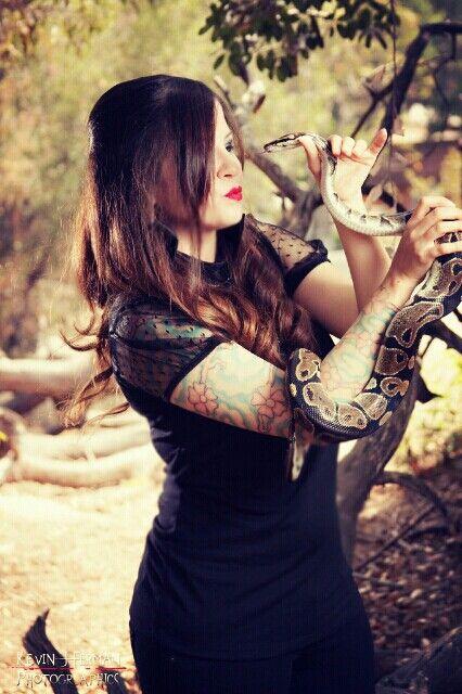 Goth / tattoos / snake