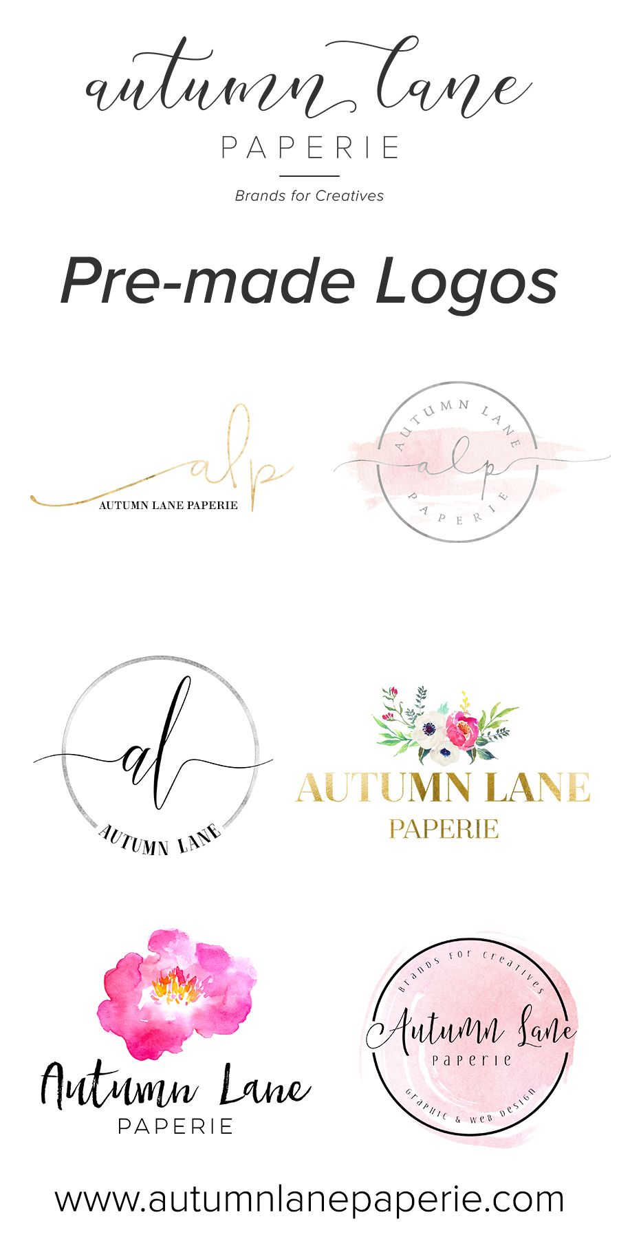 Autumn Lane Paperie specializes in brands & websites for