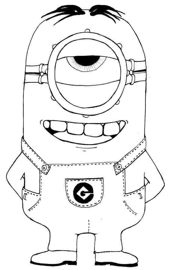 Image result for hanging minion coloring pages   ovis   Pinterest ...