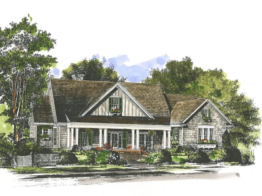 The Reasons We Love The New Oxford House Plan. Southern Living House PlansModern  ...