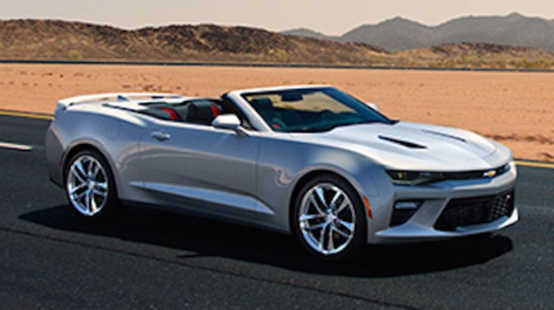 Here S The 2016 Chevy Camaro Convertible With Images Chevy