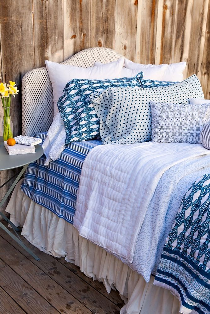 Kerry Cassill Luxury Indian printed Bedding and Apparel