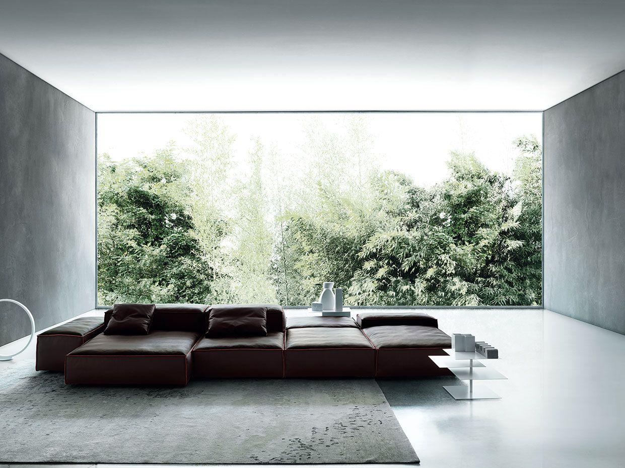 Extrasoft design Piero Lissoni B3 low table