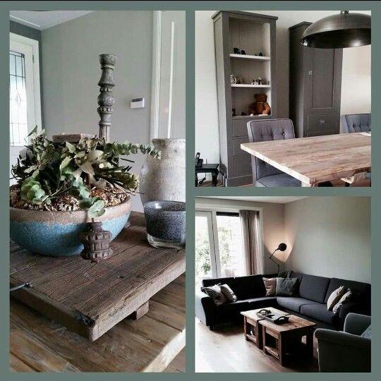 Decoratie landelijk. Landelijke stijl woonkamer.   Wonen   Pinterest ...