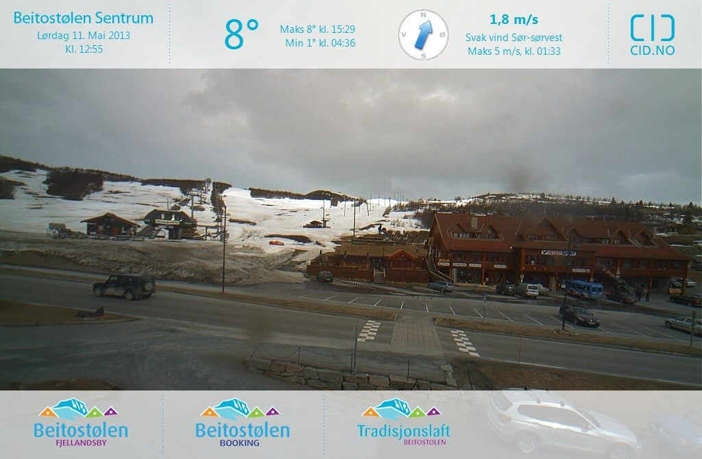 Beitost�len (Norway) Sat May 11 2013 11:00:07