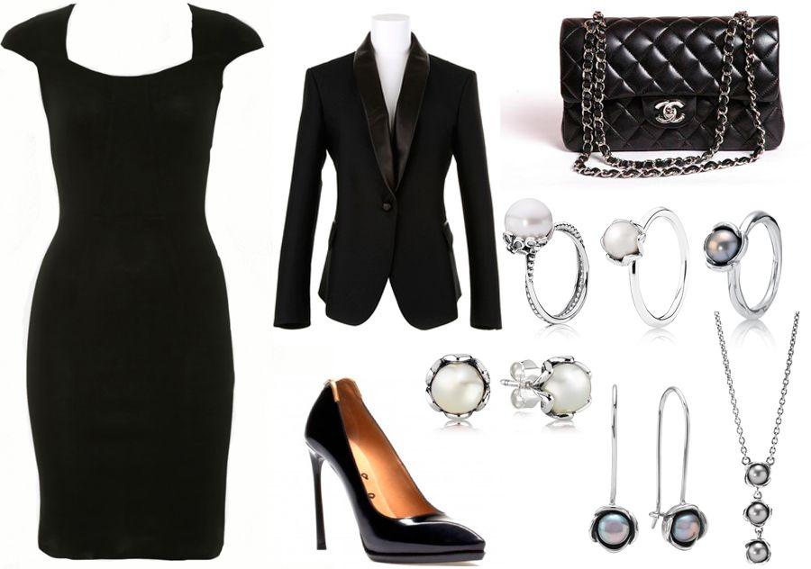 Que ponerse sobre un vestido negro