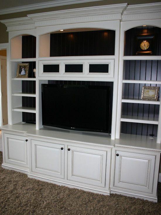 built in entertainment center on pinterest home