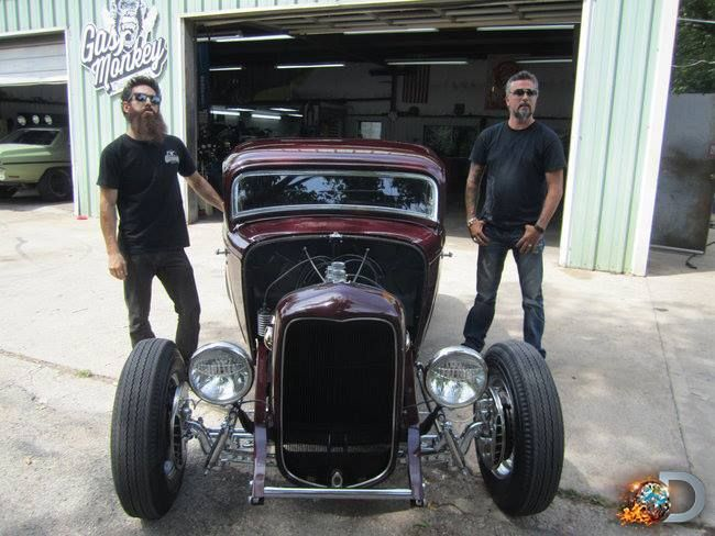 Gas monkey garage oh my man richard 32 ford coupe for Garage ford denney 90