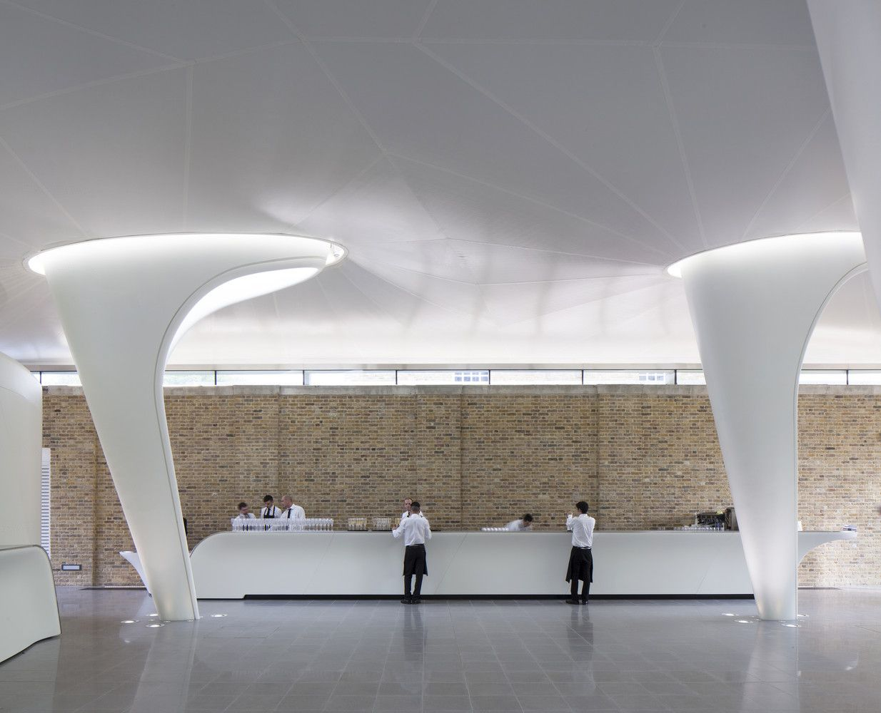 Gallery Of The Serpentine Sackler Gallery Zaha Hadid Architects