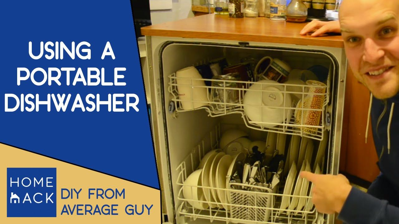 How To Use A Portable Dishwasher Portable Dishwasher Countertop