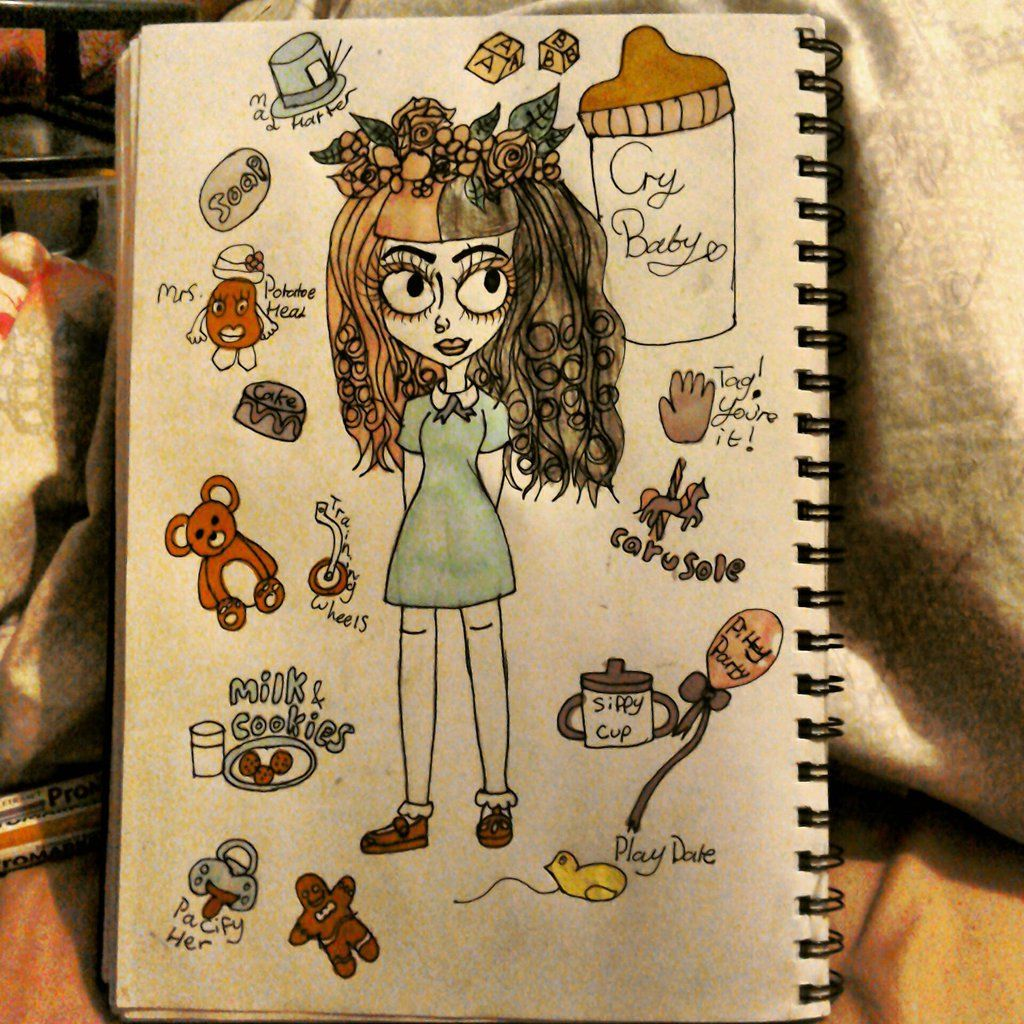 Melanie Martinez (Tim Burton style drawing) by MissCorpse96 ...