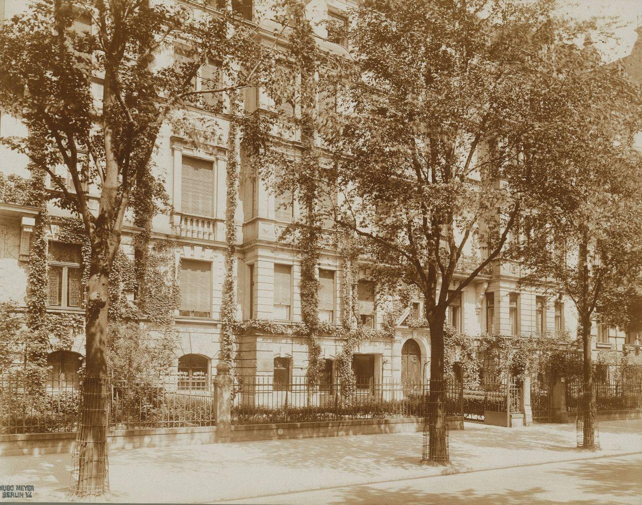 1891 berlin charlottenburg mietsh user kurf rstendamm 23 25 heute budapester stra e foto. Black Bedroom Furniture Sets. Home Design Ideas