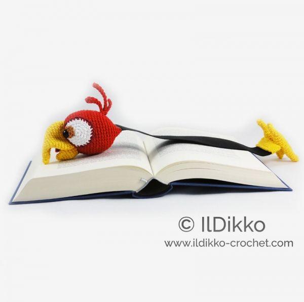 Chili the Parrot Bookmark crochet pattern by IlDikko   mis cositas ...