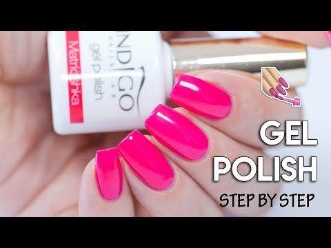 110 How To Apply Gel Polish On Natural Nails Tips And Tricks Youtube Natural Nail Tips Natural Nails Gel Nail Tutorial