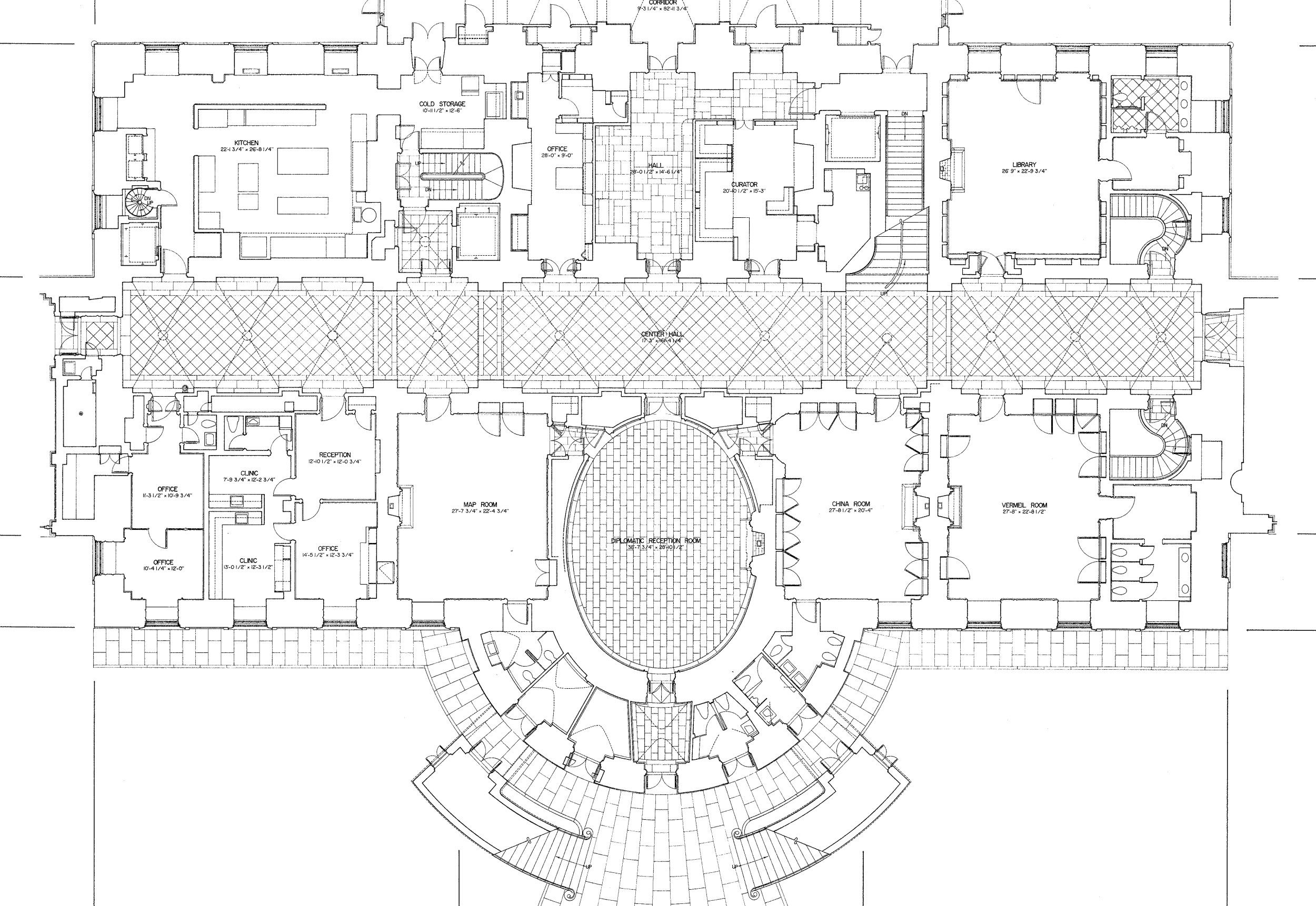 White House Floor Plans Mansion Floor Plan House Plans Mansion House Floor Plans