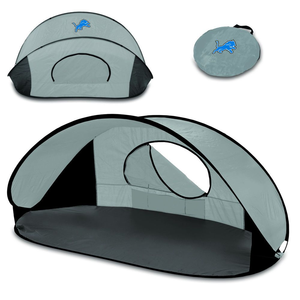 New Picnic Time NFL Detroit Lions Fully Assembled Gray