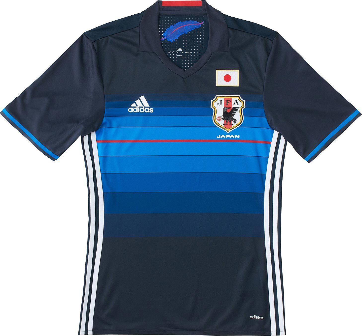 25fd28d607 Adidas apresenta novas camisas da seleção do Japão - Show de Camisas ...