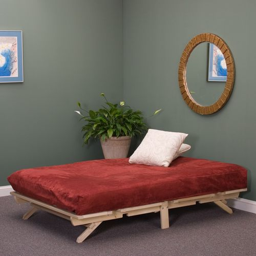Poplar Foldable Platform Bed is simple, affordable, and convenient ...