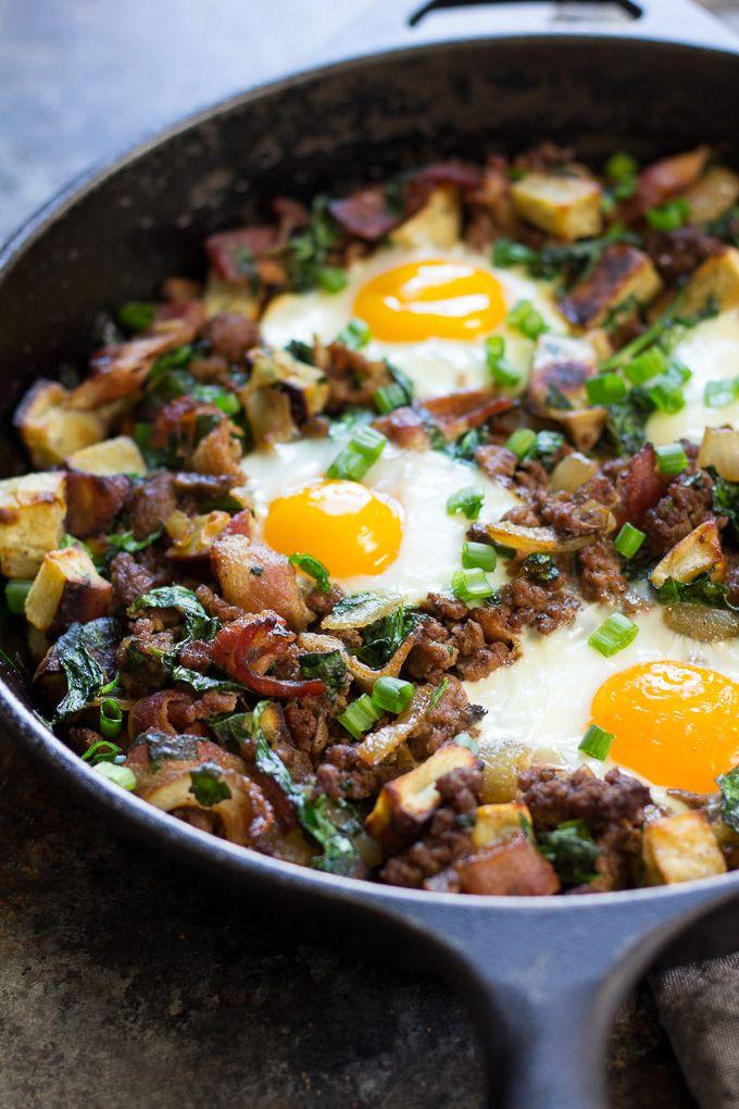 Bacon Burger Fries Paleo Breakfast Bake Whole30 Recipe Paleo Breakfast Whole 30 Breakfast Beef Recipes