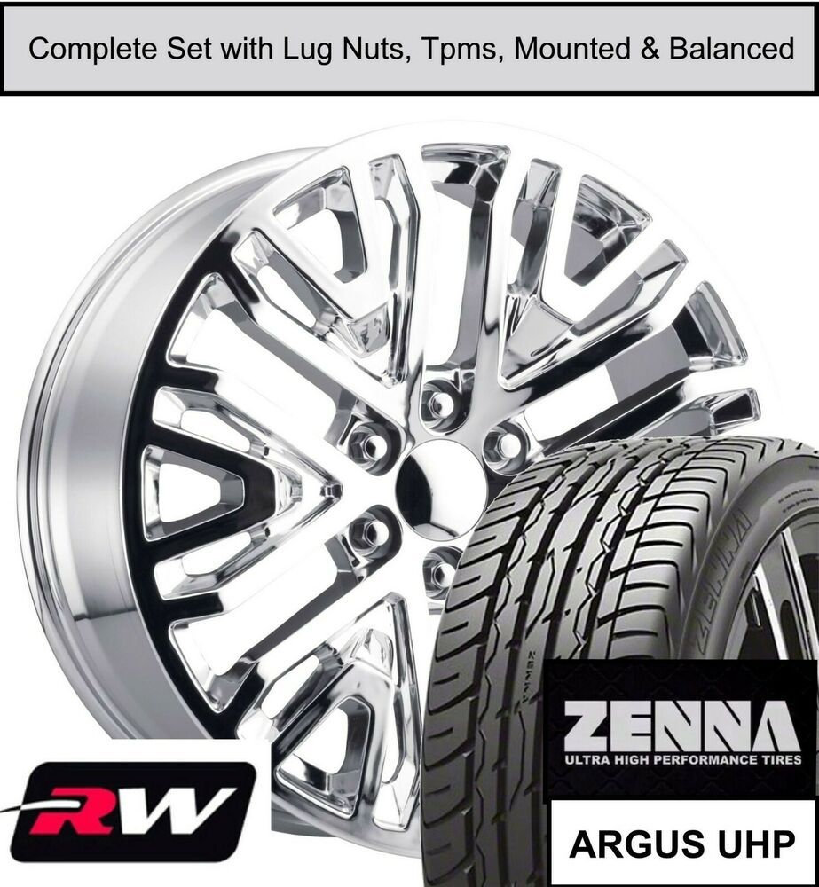 22 Inch Wheels And Tires For Gmc Yukon Oe Replica 2019 Gm