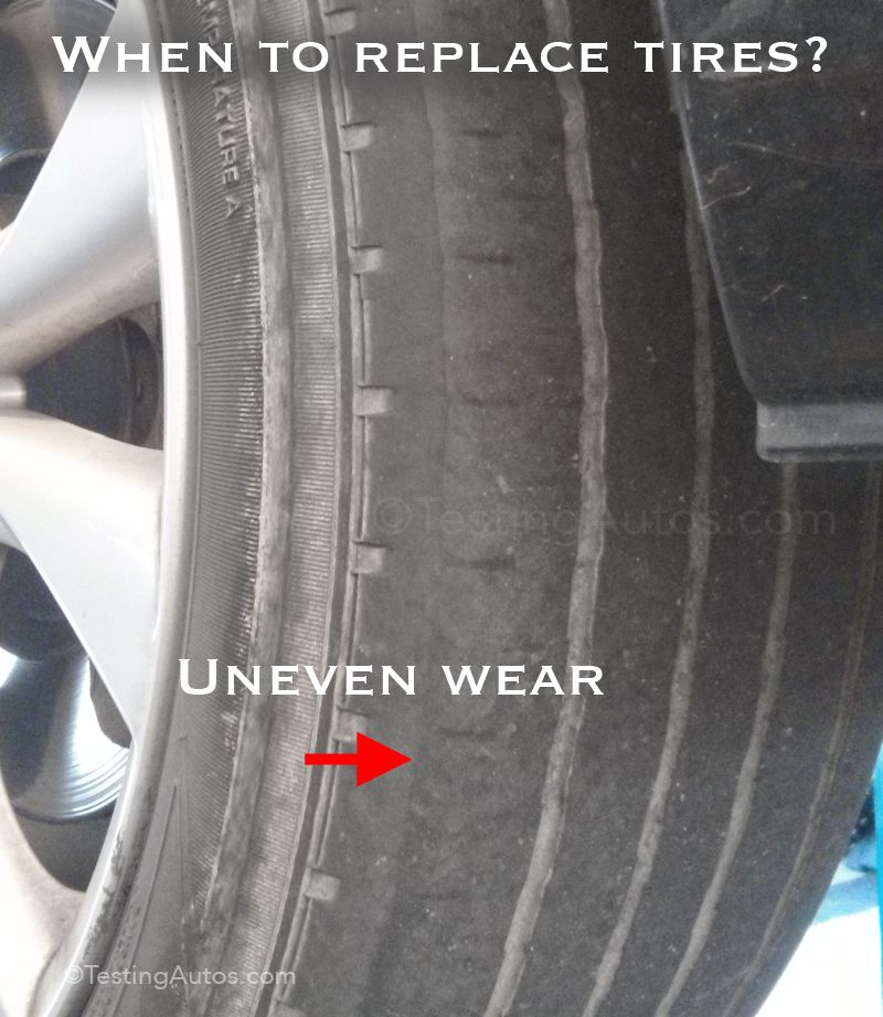 When To Replace Tires Car Maintenance Automotive Technician Car Cleaning Hacks