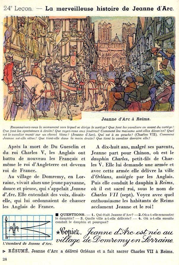 La Merveilleuse Histoire De Jeanne D Arc Histoire Jeanne D Arc Reims