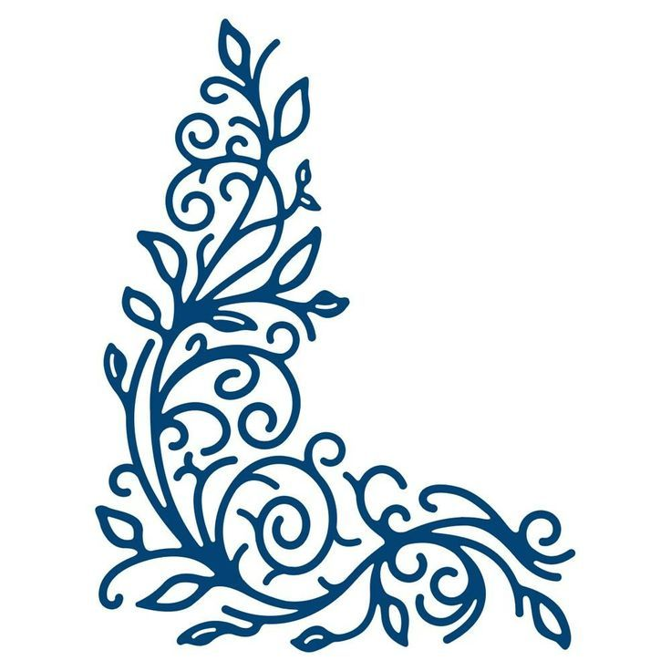 TATTERED LACE DIES - DETAILED FLOURISH Tattered Lace Detailed Flourish ...