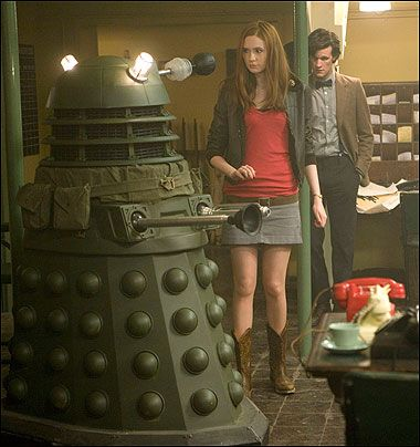 Amy Pond, Victory of the Daleks, Leather Jacket 2 | Doctor who ...