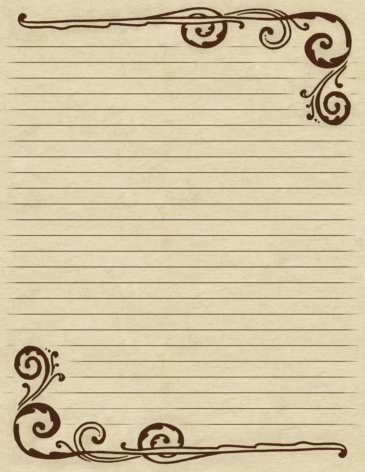 It is a photo of Obsessed How to Write a Letter on Lined Paper