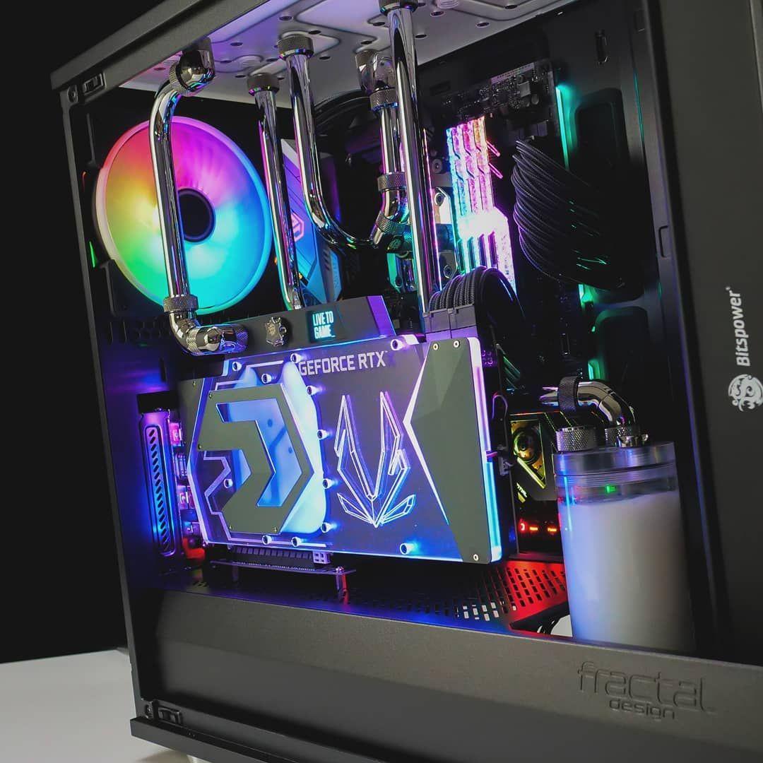 And With The Lights On Beautiful X570 Ryzen Asrock Taichi X570taichi Amd 3600x 3900x Zotac Articsto Gaming Computer Setup Custom Pc Custom Computer