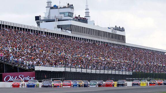 NASCAR Travel Guide to Pocono Raceway Stadiums I\u0027ve Visited