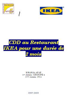 Exemple de rapport de stage d'observation 3eme introduction