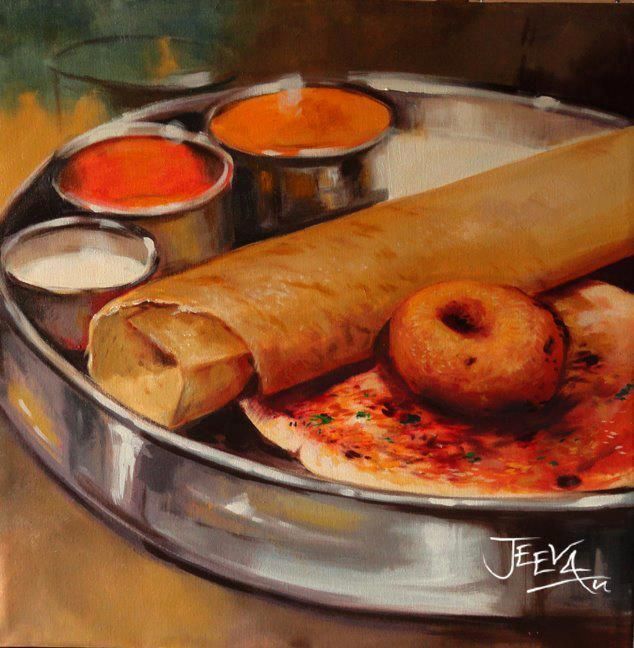 Can You Believe It Its A Painting Famous South Indian
