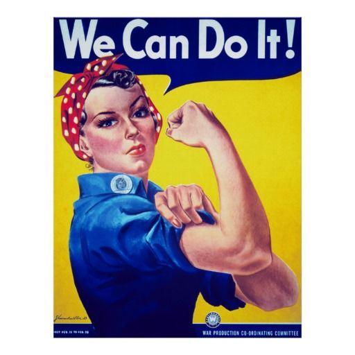 Image result for rosie the riveter millennial women