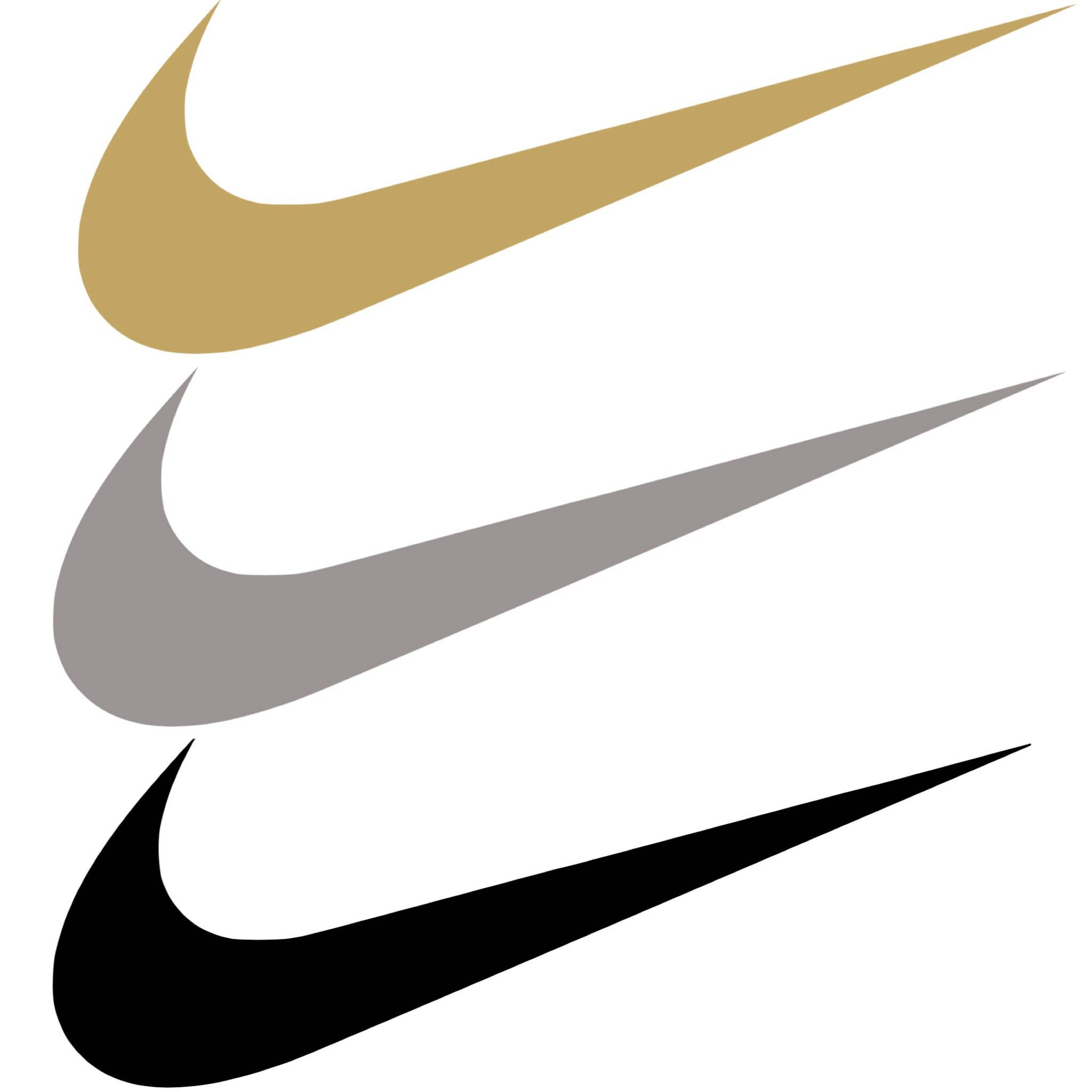 finest selection a4364 46448 Nike Swoosh Decal by bellelaineco on Etsy