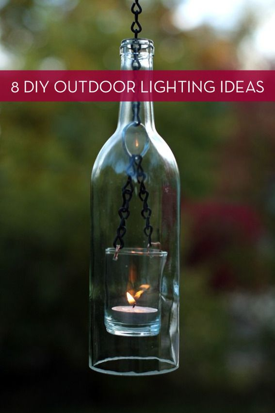 Roundup: 8 Easy Outdoor Lighting Projects » Curbly | DIY Design Community