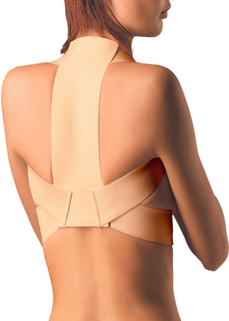 9f8c079e5a38f Elastic Upper Back Posture Corrector and Clavicle Support Brace ...