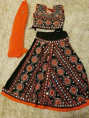 (Advertisement)eBay- Lehanga chaniya Choli Skirt Top Indian Pakistani kids Wedding Party Ethnic Dress #chaniyacholi