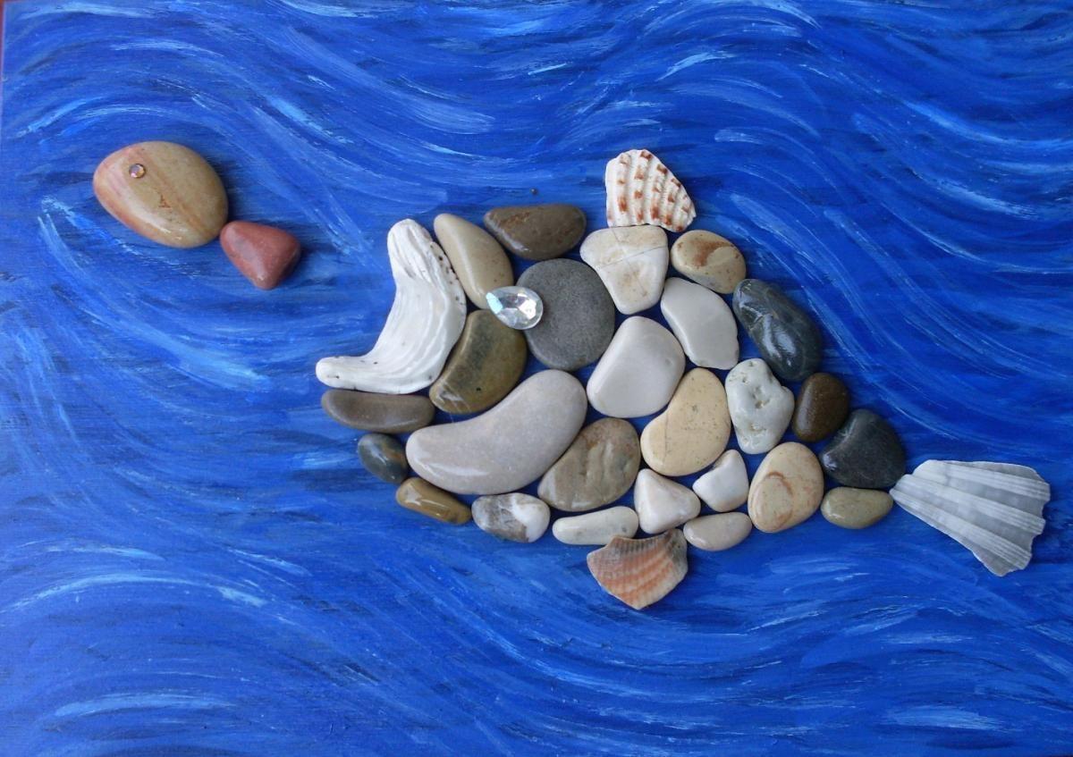 поделилась рисунки из камешек собирает камни странной