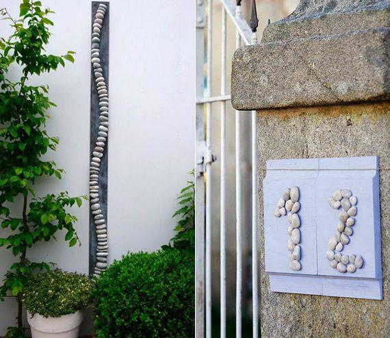 Deko Ideen Mit Steinen Für Innen Und Außen_kreative