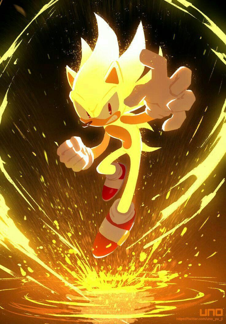 Super Sonic Sonic And Shadow Sonic Fan Art Sonic