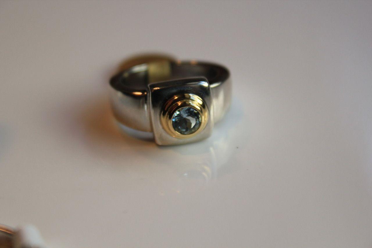 Golnar Jewelry - Classic designer Caroline Ballou AQUAMARINES Bold 18K GOLD .925 Sterling Silver , $299.00 (http://www.golnarjewelry.com/classic-designer-caroline-ballou-aquamarines-bold-18k-gold-925-sterling-silver/)