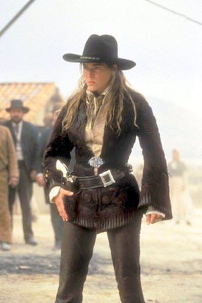 vintagesusie & wings: Sharon Stone's Wardrobe in The Quick & the Dead