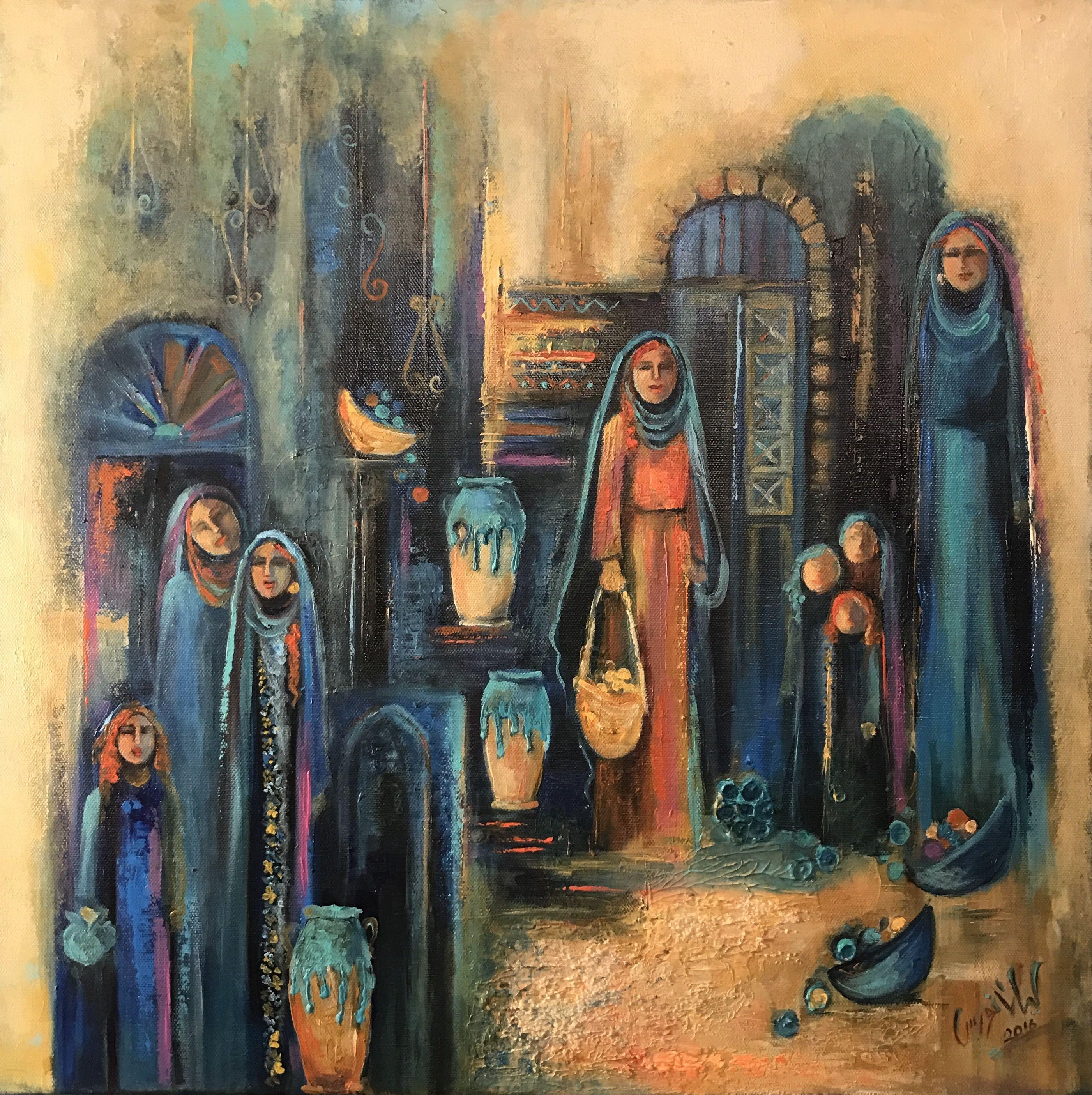 Layla Nowras Cubist Art Egyptian Art Middle Eastern Art